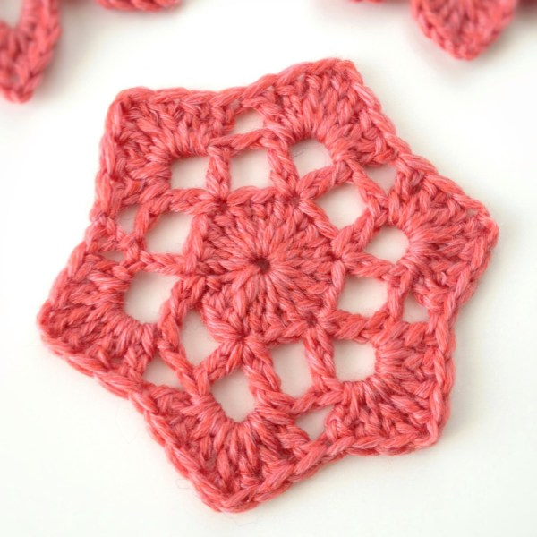 Hexagonal Crochet Motif