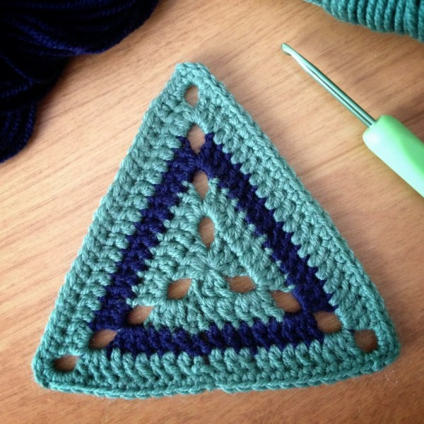 "Crochet motif #57 from the book : ""Beyond the square Crochet Motifs"""