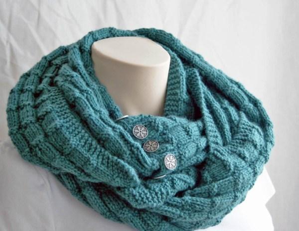 Free Knitting Pattern Spruce Cowl