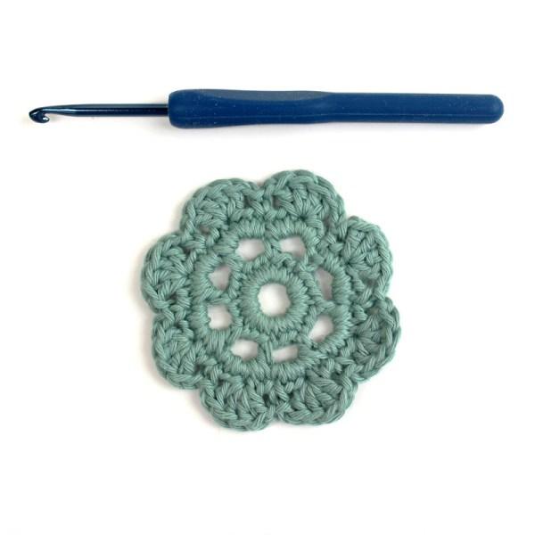 Free Pattern Isa Crochet Motif Flower