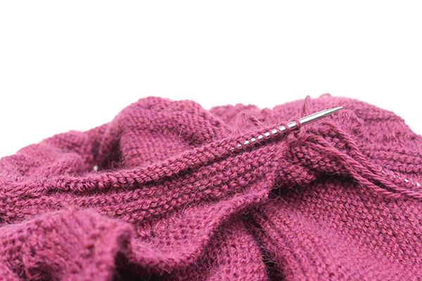 Knitting Pattern Shawl In Progress