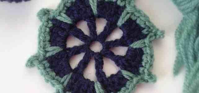Crochet Motif, A Little One