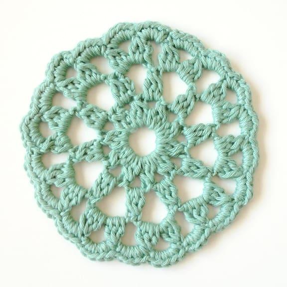 Round Crochet Motif