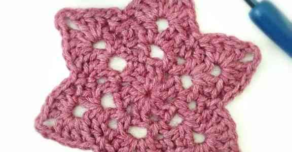 Crochet Motif From My Favorite Crochet Book