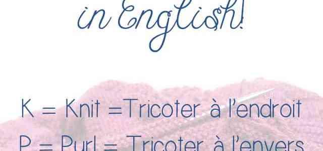 Tricotez-vous in English … en anglais ?