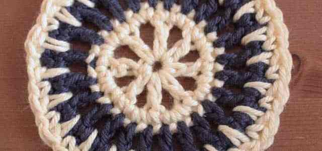 [How to] Little Crochet Motif: The Sun Spikes