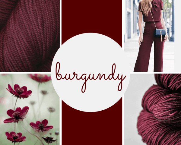 Color Burgundy