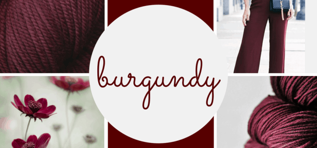 Get Inspired With The Burgundy Color