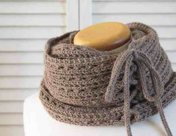 Knitting Pattern   Mokaccino Cowl   Deux Brins de Maille