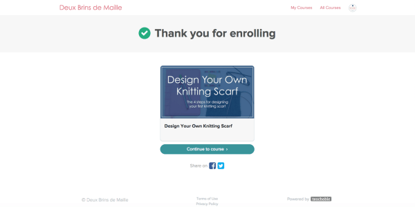 Design Your Own Knitting Scarf | You dream to create knitting designs? You want to develop your knowledge in the world of knitting? You also dream of selling your knitting patterns for an extra income. But you don't know where to start. There is so much to learn. Enroll in this free course to design your own knitting scarf!
