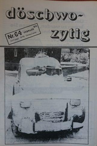 döschwo zytig 84
