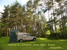 Acatrail Von Francis Camping A Cannich