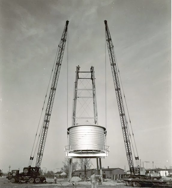 Kaleva Water Tower, 1950s