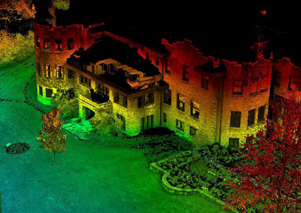 Laser scan of the Henry Ford Estate