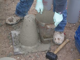 GFA concrete slump