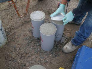 GFA concrete cylinders