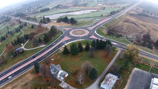 M-72 Roundabout CE, Acme Twp
