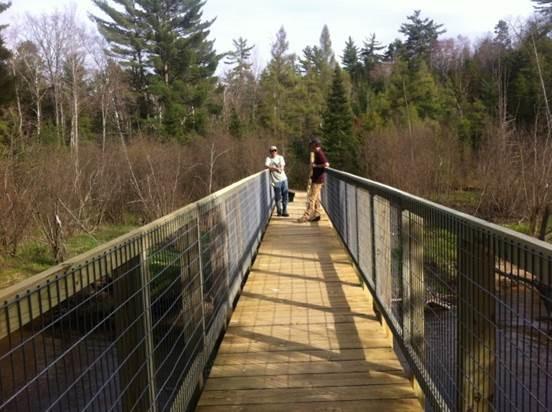 Grasshopper Bridge, Brown Bridge Quiet Area