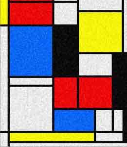 Mondriaan - Tableau - 1921