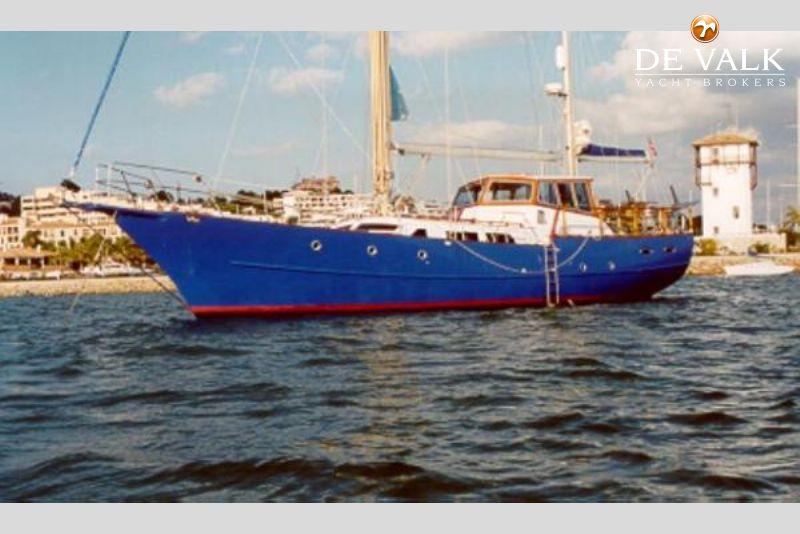 60 STEEL KETCH Sailing Yacht For Sale De Valk Yacht Broker