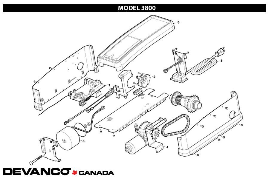 Genie Model 450 Wiring Diagram, Genie, Get Free Image