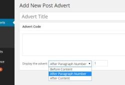 menyisipkan iklan dalam posting wordpress
