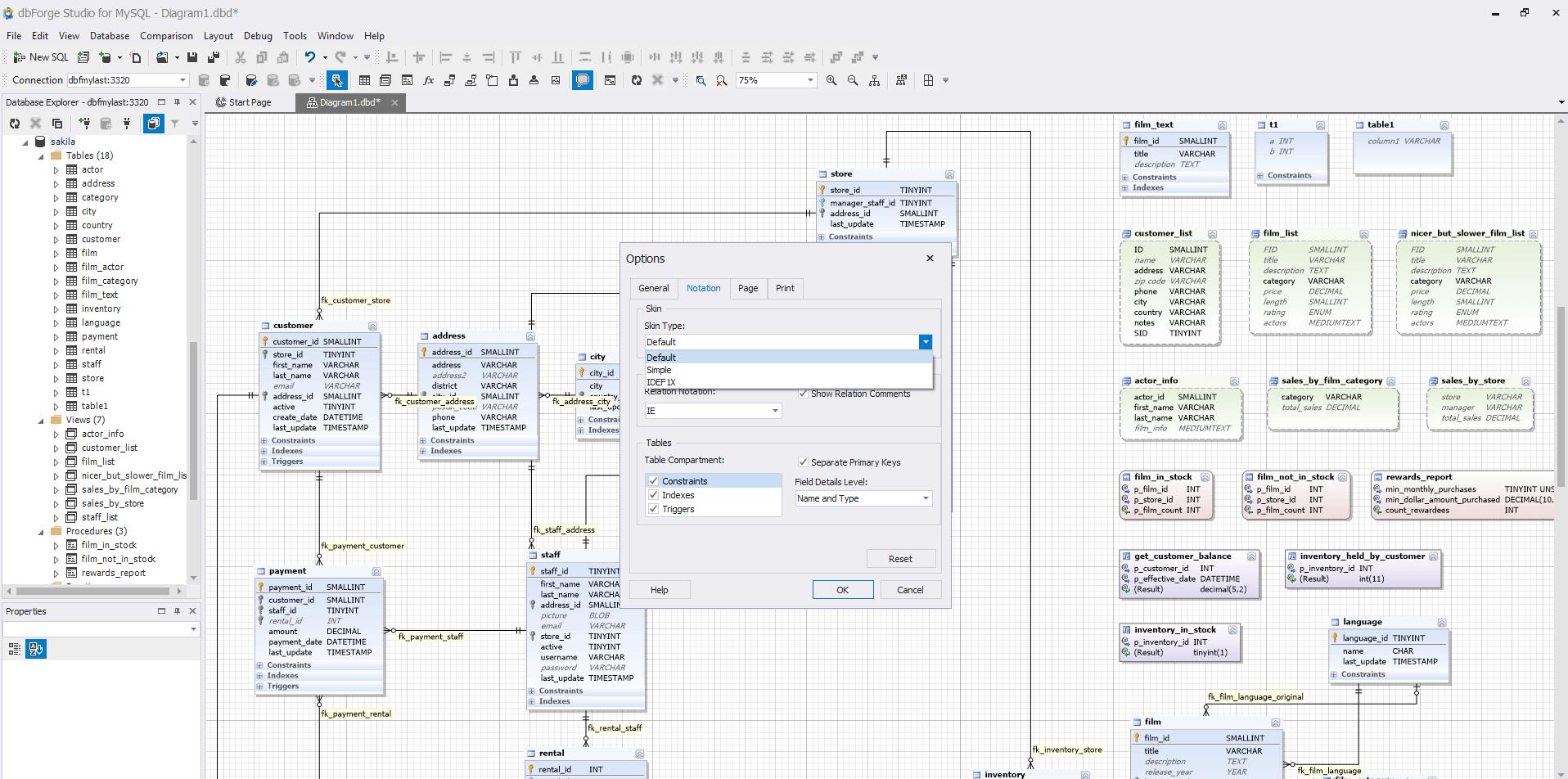 visual studio database project diagram ford edge wiring stereo designer for mysql