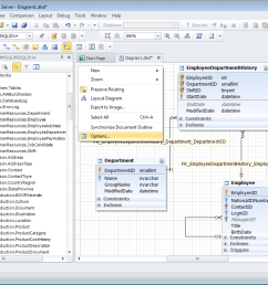you can create a new sql server database diagram simply dragging your database objects from database explorer to the diagram your new sql database diagram  [ 1024 x 768 Pixel ]