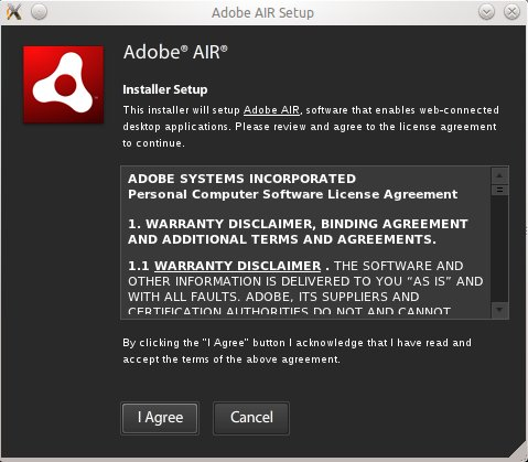 How to install Adobe AIR on Ubuntu