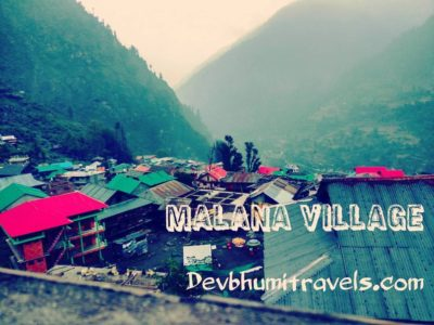 Malana Tour Packages