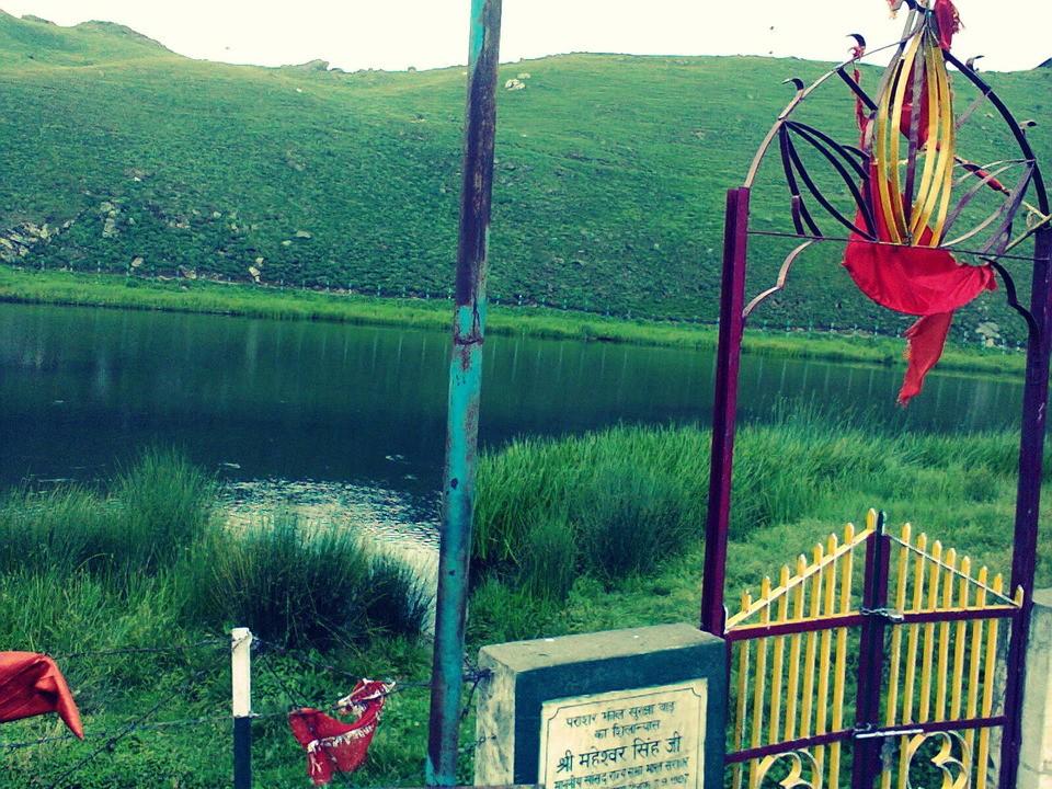 near prashar lake
