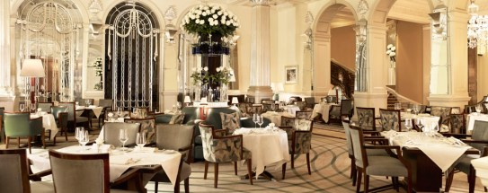 A professional image taken of the interior of Claridges