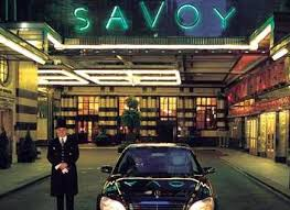 A professional picture taken of the Savoy hotel in London