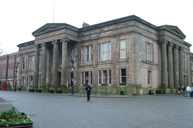 A professional picture taken of Macclesfield Town Hall