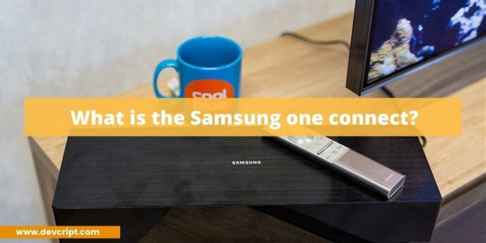 What is the Samsung one connect?