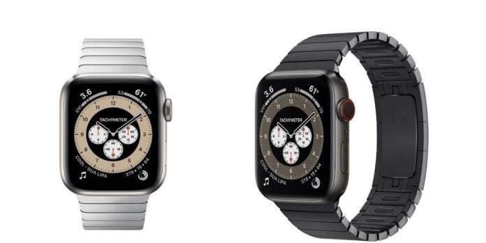 Apple Watch Series 6 Titanium Edition