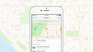 Facebook Launched A New Way to Send a Location in Messenger