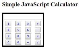 javascript calculator code