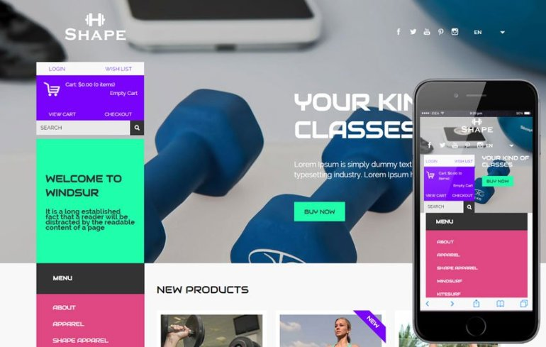 Best eCommerce HTML5 Templates & Themes