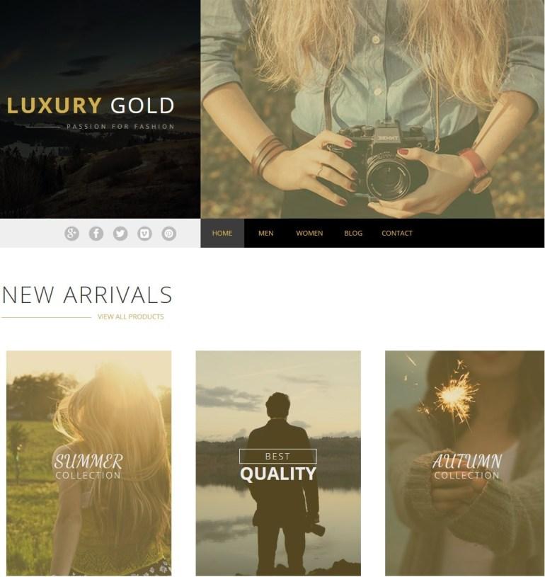 Best eCommerce HTML5 Templates