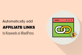 Keywords with Affiliate Links