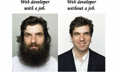 Web Developer With A Job Web Developer Without A Job Meme