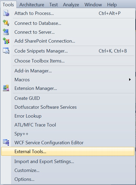 How to Display IL code in Visual Studio 2010 ?