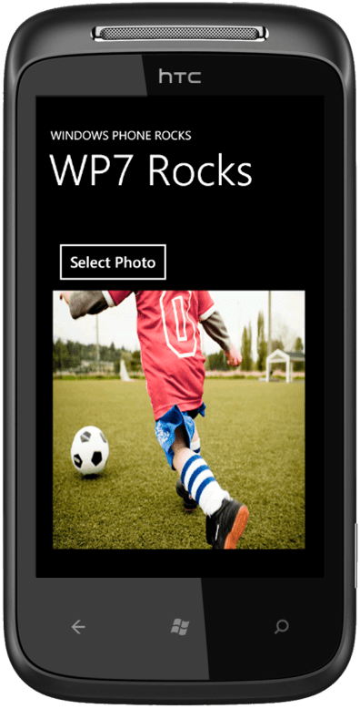 How to select a Photo from the Windows Phone Media Library using C# ?