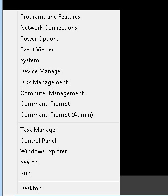 Different ways to open the Command Prompt in Windows 8 in Metro UI ? - 1