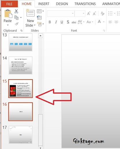 How to add Duplicate Slide in PowerPoint 2013 Presentation?