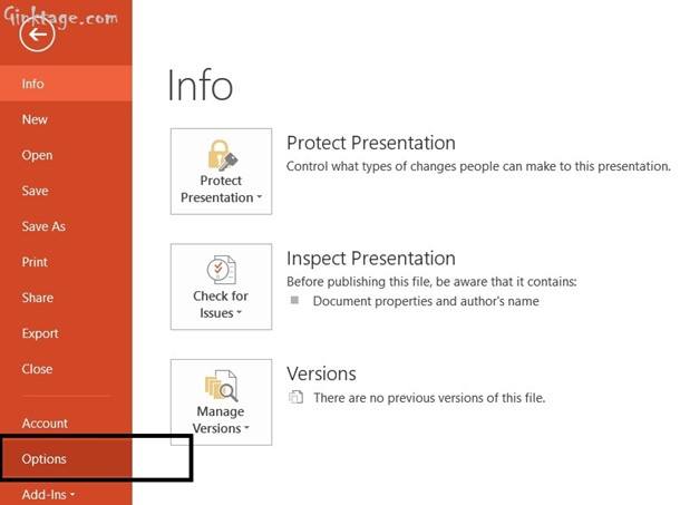 How to Hide Spelling Errors in the Presentation in Microsoft PowerPoint 2013?