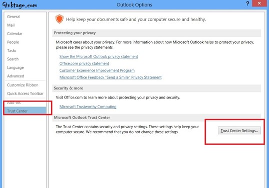 How to Download Images Automatically in Outlook 2013?