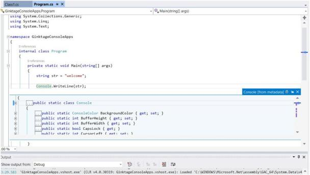 Visual Studio 2013 Tips and Tricks - Go To Definition with Control Click Feature
