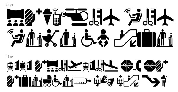 20+ Symbols, Fonts and Pictograms for Web Designers